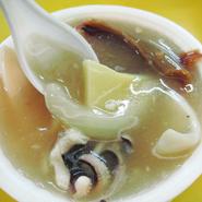 阿婆之家「生炒花枝」イカのとろみスープ