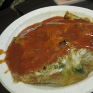 阿宗麺線「阿仔煎」カキのオムレツ