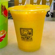 台北牛乳大王「芒果冰沙」マンゴースムージー
