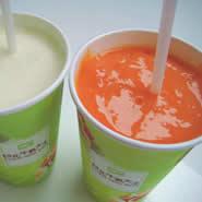 台北牛乳大王「木瓜牛奶」 パパイヤミルク
