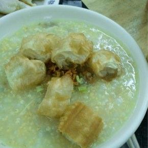 瑞安豆漿大王「鶏蓉粥」鶏のささみ入り粥
