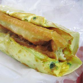 新年快樂!! 台湾の伝統的な朝食でスタート